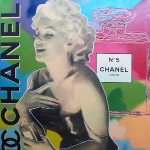 Steve_Kaufman_Chanel_No_5_Marilyn_Monroe